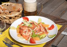 Free Dinner On Terrace Royalty Free Stock Photo - 6397315