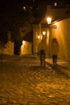 Free Night Prague Scenery Stock Photos - 6397343
