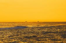 Free Yellow Sea Horizon Stock Image - 6397451