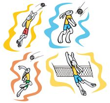 Free Bunny Sport Illustrations Stock Photography - 6397472