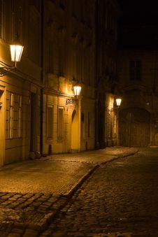 Free Night Prague Scenery Royalty Free Stock Images - 6397509