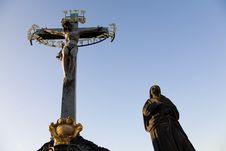 Free Statuary Of The Calvary Cross Royalty Free Stock Photography - 6397607