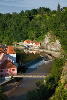 Free Vltava River Canyon Stock Photos - 6397613