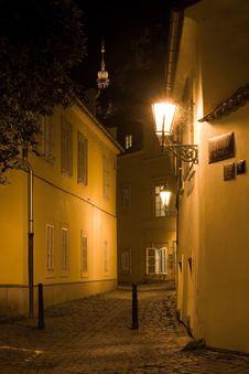 Free Night Prague Scenery Stock Photography - 6397712