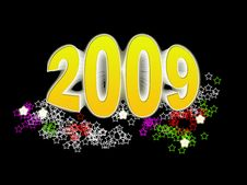 Free New Year 2009 Royalty Free Stock Photos - 6397958