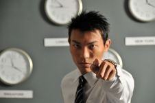 Time Is Urgent! Stock Photography