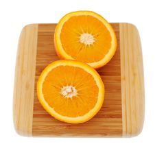 Free Orange On Breadboard Stock Photo - 6398160