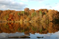 Free Lake At Autumn Stock Images - 6398544
