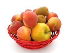 Free Fruits In A Basket Royalty Free Stock Photos - 6399218
