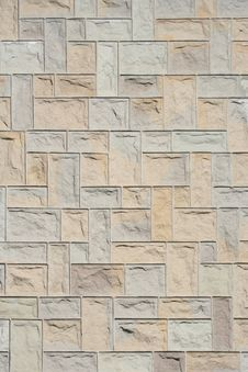 Free Stone Wall Texture Background Stock Photography - 6399822