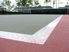 Free Empty Tennis Court Stock Images - 640024