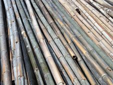 Free Bamboo Girders Texture Stock Photos - 640123