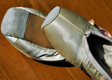 Free Ballet Shoes 1 Royalty Free Stock Images - 640139
