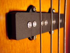 Free Rock Bass Guitar Stock Image - 640311