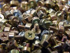 Free Screws Royalty Free Stock Image - 640316