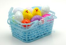 Free Easter Basket Royalty Free Stock Images - 641019