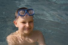Free Boy In Water Stock Photography - 641322