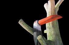 Wooden Bird Stock Images