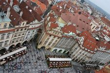 Free The Prague From The Sky Royalty Free Stock Image - 641766