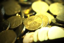 Free Coins Royalty Free Stock Image - 641826