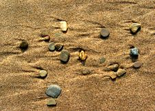 Free Beach Pebbles Royalty Free Stock Image - 641886