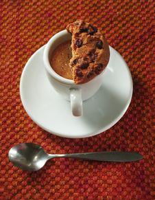 Free Espresso With Cookie Stock Photos - 642203