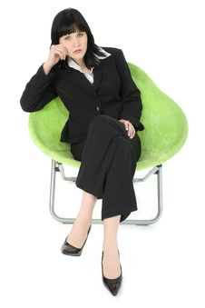 Free Brunette Business Woman Royalty Free Stock Image - 643016