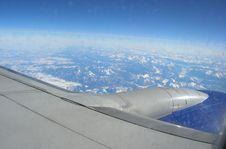 Free Mountain Plane Royalty Free Stock Photography - 643887