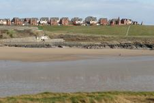 Free Barry Bay In South Wales Stock Photography - 644182
