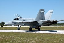 Free F/A-18C Hornet Royalty Free Stock Images - 644379