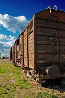 Free Old Train 02 Stock Photo - 644530