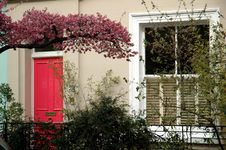 Free Pink Door Stock Photo - 644780