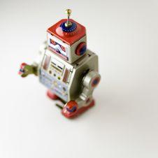 Free Toy Metal Robot Royalty Free Stock Images - 645249