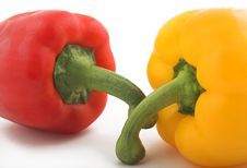 Free Bellpepper Duo Stock Photography - 645592