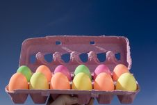 Free Easter Eggs Stock Image - 645881