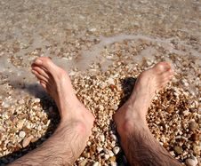 Free Italys Adriatic Coast And Feet Royalty Free Stock Photo - 647075
