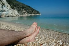 Free Italys Adriatic Coast And Feet Royalty Free Stock Photos - 647078