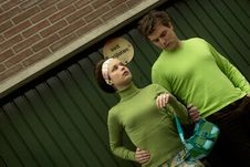 Free Retro Couple Stock Photography - 647462