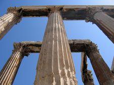 Free Temple Of Olympian Zeus Ruins, Athens Stock Photos - 647553