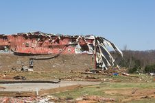 Free Tornado Damage 1 Royalty Free Stock Photos - 647558