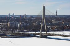 Free Riga: Bridge Stock Photo - 647580