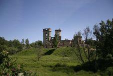 Free Palace Ruins Royalty Free Stock Image - 647616