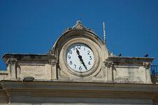 Free Ancient Clock Stock Photo - 647640