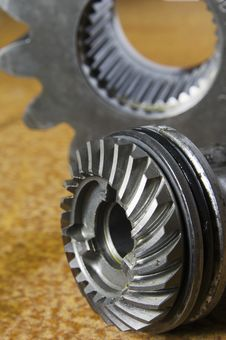 Gears And Cog Stock Photos