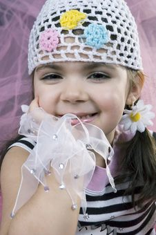 Free Smiling Girl Royalty Free Stock Images - 647959