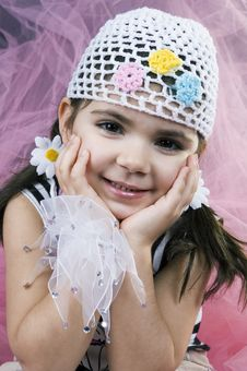 Free Sweet Little Girl Royalty Free Stock Photo - 647965