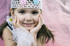 Free Innocent Smile Royalty Free Stock Photography - 647967