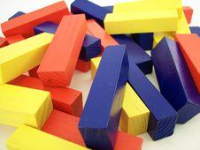 Free Colored Blocks 2 Stock Photo - 648160