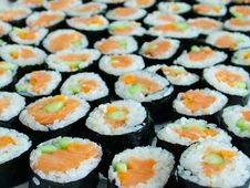Free Sushi Royalty Free Stock Image - 648866