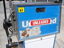 Free Unleaded Pump Royalty Free Stock Photos - 649618